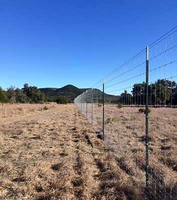 Ranch Fencing services from Ranch Co serving the Texas Hill Country